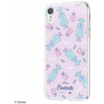 iPhone XR ケース ディズニー キャラクター TPUケース+背面パネル シンデレラ /パウダールーム