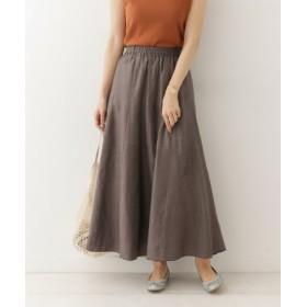DOORS(ドアーズ) スカート スカート リネンフレアマキシスカート
