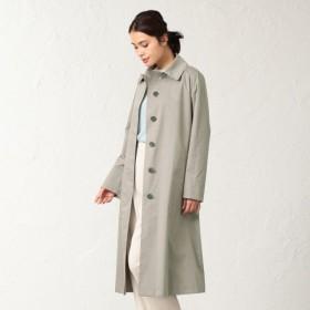 【サンヨーコート ウィメン(SANYOCOAT WOMEN)】 <Spring Coat>先染めシルクコットンベルテッドコート <Spring Coat>先染めシルクコットンベルテッドコート ベージュ