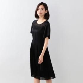 SALE【トゥー ビー シック(TO BE CHIC)】 ポワリーサテンドレス ブラック