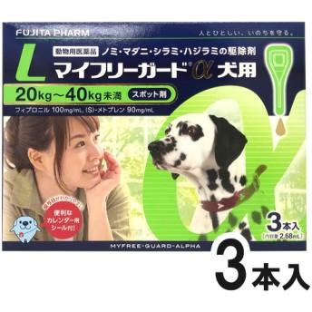 マイフリーガードα 犬用 L 20~40kg 3本(動物用医薬品)