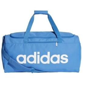 アディダス adidas メンズ レディース ダッフルバッグ リニアチームバッグM FSW93 DT8621 トゥルーブルーS19/トゥルーブルーS19/ホワイト 【2019SS】