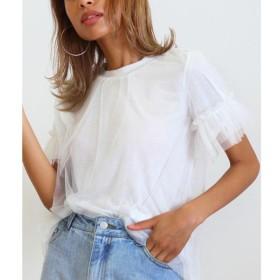 [マルイ]【セール】チュール重ねTシャツ/アナップ(ANAP)