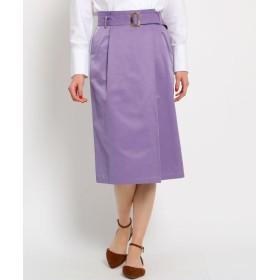 AG by aquagirl(エージー バイ アクアガール) 【Lサイズあり】ベルテッドラップ風スカート