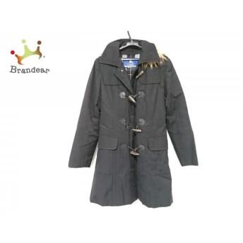 バーバリーブルーレーベル Burberry Blue Label コート サイズ40 M レディース 黒 冬物 スペシャル特価 20190319