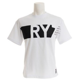 ライズ(RYZ) PANEL BGT ショートスリーブTシャツ 869R9EG6313 WHT (Men's)