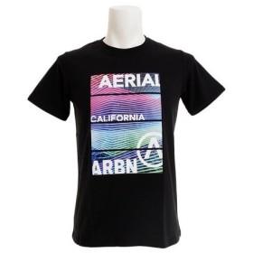 エアボーン(ARBN) NEON PANEL ショートスリーブTシャツ AB99AW1179 BLK (Men's)
