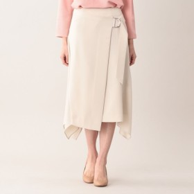 SALE【アマカ(AMACA)】 ★★セラテリー スカート ★★セラテリー スカート ベージュ