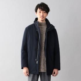 【サンヨー コート メン(SANYO COAT MEN)】 <京鴨ダウン>スタンドカラーダウンコート ネイビー