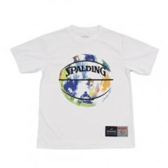 スポルディング(SPALDING) ジュニア Tシャツ マーブルWH SJT190430WH(Jr)