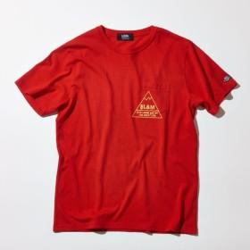 SALE【ファイブレイクス・アンド・エムティー(5LAKES & MT)】 富士山Tシャツ レッド
