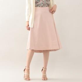 SALE【アマカ(AMACA)】 ★★コットンソロツイルフレアースカート ★★コットンソロツイルフレアースカート ピンク