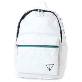 ゲス GUESS SMALL TRIANGLE LOGO BACKPACK (WHITE)