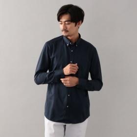 SALE【エポカ ウォモ(EPOCA UOMO)】 ストライプジャージーボタンダウンシャツ ネイビー