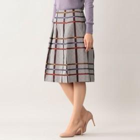 ca2b4e42856d SALE【ポール・スチュアート ウィメン(Paul Stuart WOMEN)】 ヘリンボーンチェックJQスカート