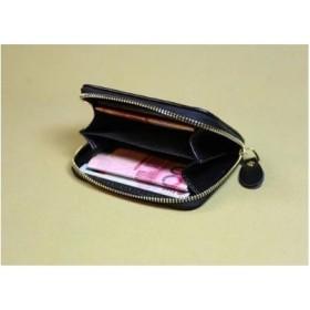 高品質な本革牛革財布 二つ折り小銭入れ メンズ・レディース