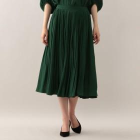 SALE【マッキントッシュ ロンドン ウィメン(MACKINTOSH LONDON WOMEN)】 タックギャザースカート カーキ