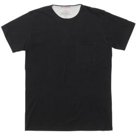 【アポリス(APOLIS)】 スタンダードイシュー オーガニックポケットTシャツ スタンダードイシュー オーガニックポケットTシャツ ブラック