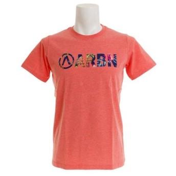 エアボーン(ARBN) BOTANICAL ロゴ ショートスリーブTシャツ AB99AW1180 PNK (Men's)
