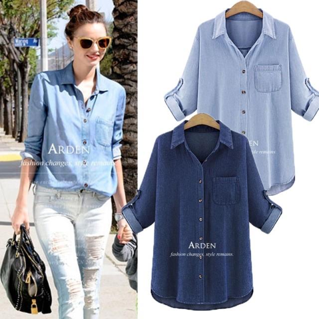 秋先取りSALE デニムジャケット シャツ 2色 SALE! 高級品質 豊富なサイズ XL-4XL