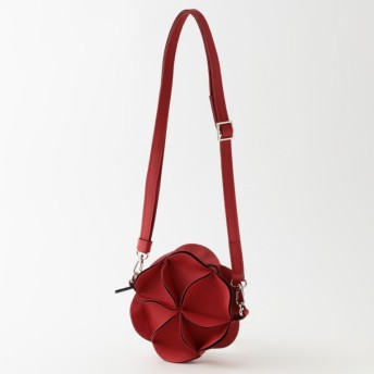 【ル ジュール(LE JOUR)】 【GOOD JOB】BLOSSOM SHOULDER BAG レッド系