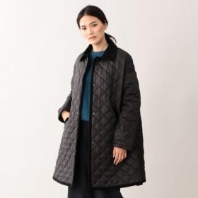 【エムピー ストア(MP STORE)】 ポリエステルタフタ キルティングコート ブラック