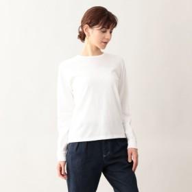 SALE【エムピー ストア(MP STORE)】 吊り天竺ロングスリーブTシャツ オフホワイト