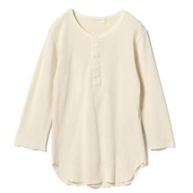 R JUBILEE / Henry-neck Tee レディース Tシャツ OFF WHT M