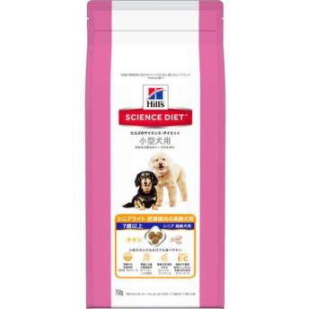 サイエンスダイエット シニアライト 小型犬用 肥満傾向の高齢犬用 7歳以上 750g【在庫限り】