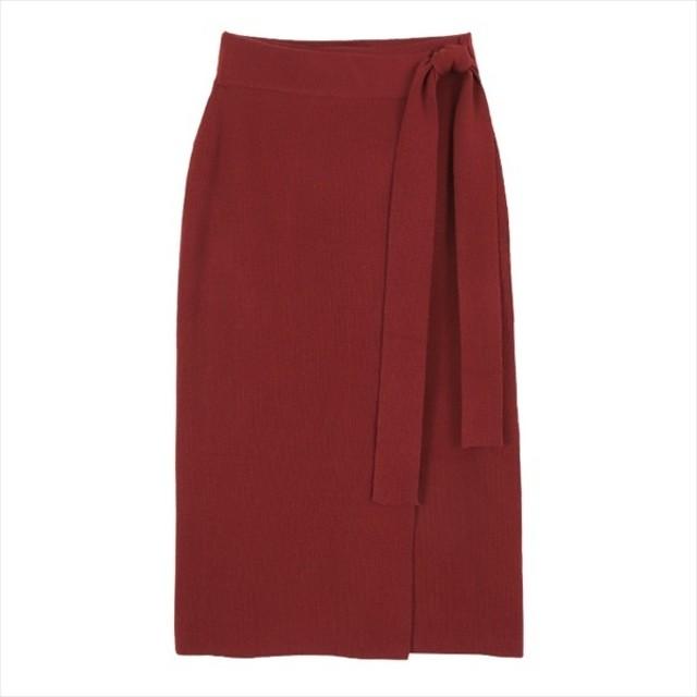 [マルイ]【セール】ラップ風ニットタイトスカート/ティティベイト(titivate)