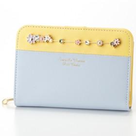 [マルイ] パステルバイカラーシリーズ 折財布/サマンサタバサプチチョイス(Petit Choice)