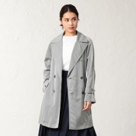 【サンヨー コート ウィメン(SANYO COAT WOMEN)】 <Spring Coat>ナイロンワッシャーライトコート グレー