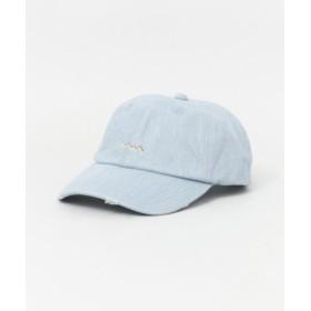 SENSE OF PLACE(センスオブプレイス) 帽子 キャップ ダメージデザインキャップ