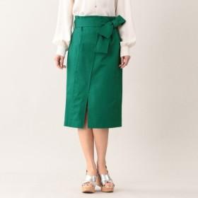 SALE【エポカ ザ ショップ(EPOCA THE SHOP)】 【E_EPOCA THE SHOP】ラップスカート グリーン1