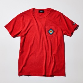 SALE【ファイブレイクス・アンド・エムティー(5LAKES & MT)】 オルテガTシャツ オルテガTシャツ レッド