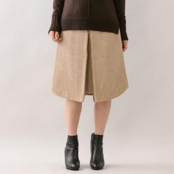 SALE【エポカ(EPOCA)】 ★★ヴィンテージビックカルゼ ラウンドヘムスカート キャメル