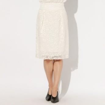 SALE【エポカ(EPOCA)】 オーキッドオパール コクーンスカート ホワイト