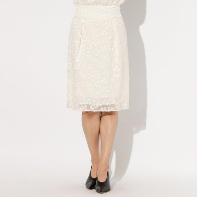 SALE【エポカ(EPOCA)】 ★★オーキッドオパール コクーンスカート ★★オーキッドオパール コクーンスカート ホワイト
