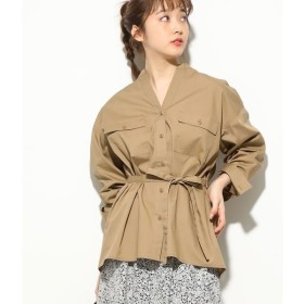 [マルイ]【セール】パッチポケット付きオーバーサイズシャツ/ビス(ViS)