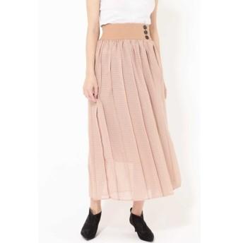 [マルイ]【セール】シアーチェックカラースカート/ローズバッド(ROSE BUD)