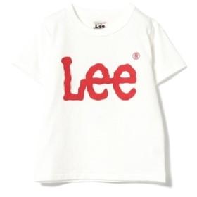 Lee / ベーシック ロゴTシャツ キッズ Tシャツ WHITE 120