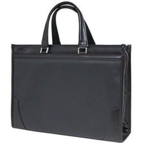 日本製ビジネスバッグ BS-2211 ブラック×レッド