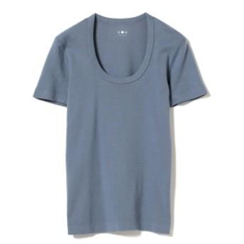 three dots / JESSICA 半袖カットソー 19S レディース Tシャツ WASHED DENIM S
