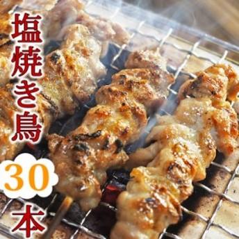 【 送料無料 】 焼き鳥 国産 バイキング 塩 30本セット BBQ バーベキュー 焼鳥 惣菜 おつまみ 家飲み パーティー 選べる 肉 生 チルド 冷