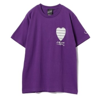 【SPECIAL PRICE】BEAMS T / Left My Heart Tee メンズ Tシャツ PURPLE XL
