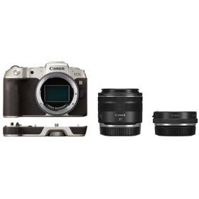 CANON EOS RP(ゴールド) RF35 MACRO IS STM マウントアダプターSPキット ゴールド [ミラーレス一眼カメラ(2620万画素)] デジタル一眼カメラ