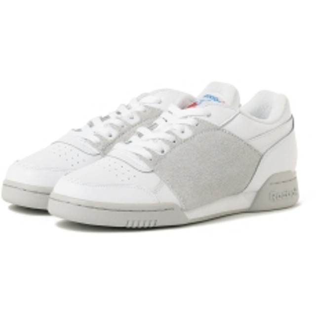 Reebok CLASSIC × NEPENTHES / ワークアウト プラス メンズ スニーカー WHITE 8