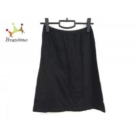 アニエスベー agnes b スカート サイズ1 S レディース 黒 ウエストゴム   スペシャル特価 20190520【人気】