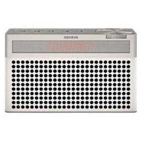 Geneva 875419016665JP ホワイト Touring S+ [Bluetoothスピーカー(バッテリー内蔵/FMラジオ機能付き)]