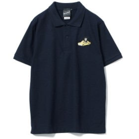 【SPECIAL PRICE】BEAMS T / Yellow Cab Bear Polo メンズ ポロシャツ NAVY S